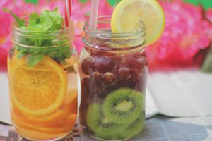 フルーツティー 果物